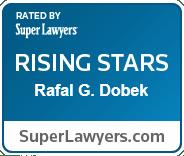 Rafal G Dobek super lawyers award