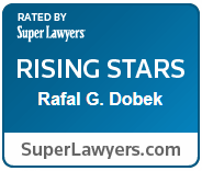 Rafal G Dobek super lawyers award